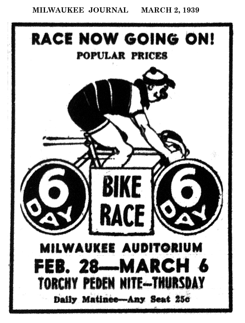 19390302_Six_Day_Bike_Race_Journal