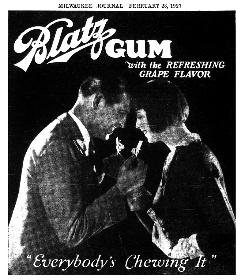 19270228_Blatz_Gum_Ad_Journal